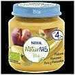 Tarrito de fruta (melocotón, plátano, manzana y pera), a partir de 4 meses BIO Tarro 120 g Naturnes Nestlé