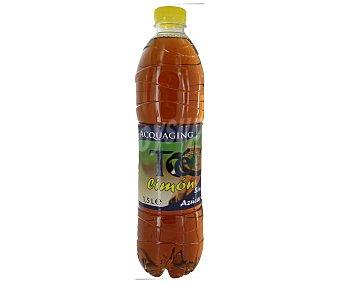 Aquaging Refresco de té al limón sin azúcar, con edulcorantes Botella de 1,5 litros