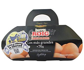 Roig Huevos roig tamaño XL Envase 6 u