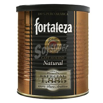 Fortaleza Fortaleza Café Molido Supremo Especial 1.885 Lata 250 g