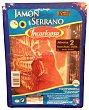 Jamón curado lonchas Paquete 240 g Incarlopsa