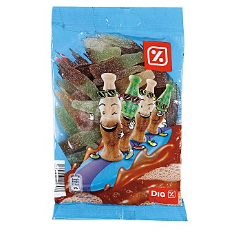 DIA Golosinas cola azucarada bolsa 250 gr Bolsa 250 gr