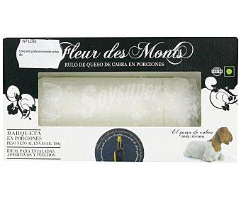 FLEUR DES MONTS Queso de Cabra en Porciones 100g