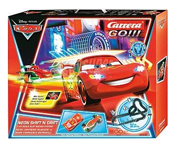 Disney Pista de Scalextric Cars 2 1 Unidad