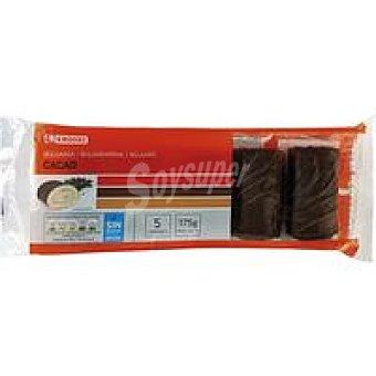 Eroski Búlgaro de cacao 5 unid
