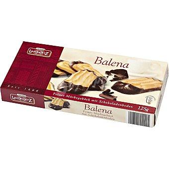 LAMBERTZ Balena Galletas con baño de chocolate Estuche 125 g