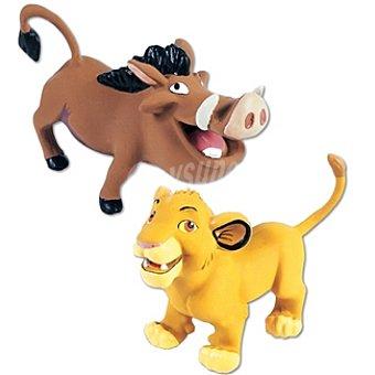 Friskies Purina Juguete para perro de látex Simba y Pumba Disney Pets 1 unidad