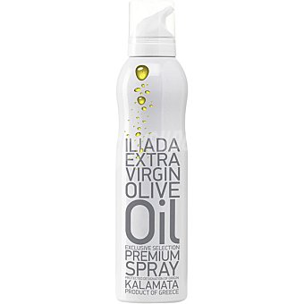 Iliada Aceite de oliva extra virgen P.O.D Kalamata Grecia en spray botella 200 ml botella 200 ml