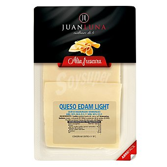 Juan Luna Queso Edam light en lonchas 200 g