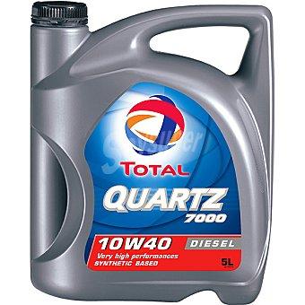 TOTAL Quartz 7000 Aceite de motor para automóvil Diesel 10W40 5 l