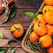 Mandarina con hoja Bolsa de 1000 g peso aprox.