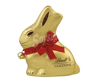 Lindt Figura conejo de chocolate con leche de pascua 100 gr