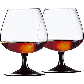 LUMINARC Friedns Time Copas de Cognac de vidrio set de 2 unidades 77 cl