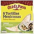 Tortilla de harina de trigo Flour paquete 326 g Old El Paso
