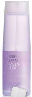 Deliplus Body spray iris en flor Botella 200 cc