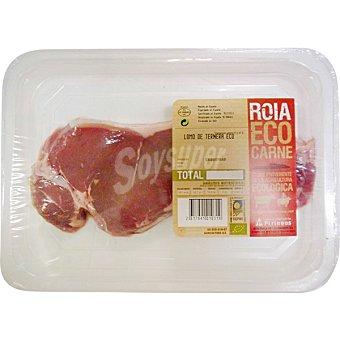 ROIA Ternera ecológica lomo Bandeja de 400 g peso aprox.