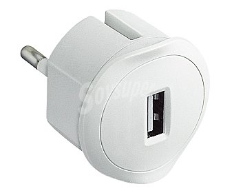 Legrand Clavija bipolar adaptadora de red a USB de color blanco legrand