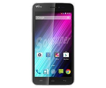 "WIKO Smartphone libre Lenny Blanco, procesador: Dual Core, Ram: 512MB, almacenamiento: 4GB ampliable mediante tarjetas microsd, pantalla: 5.0"" 480x854px, cámara: 5.0Mp, Wi-Fi, Dual Sim, Android 4.4"