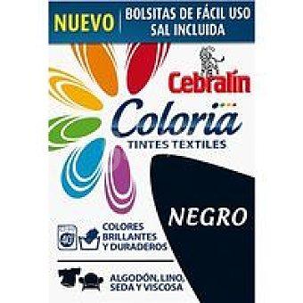 Cebralin Tinte Negro Coloria 40 lavados