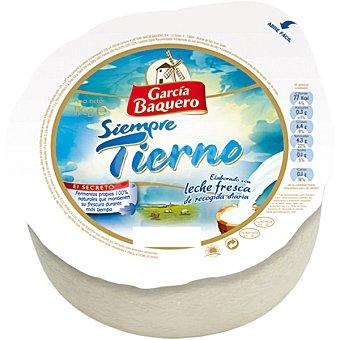 García Baquero Queso castellano tierno  1 kg (peso aproximado pieza)