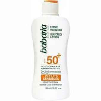 Babaria Leche solar piel sensible FP50+ Bote 200 ml