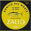 bonito del norte en aceite de oliva  lata 190 g neto escurrido Zallo