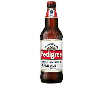 MARSTON'S PEDIGREE Cerveza Inglesa de Importación Botella 50 Centilitros