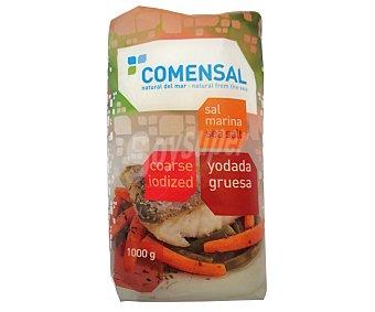 COMENSAL Sal marina, yodada y gruesa 1 kg