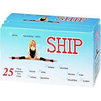 SHIP té de hierbas naturales cuida la línea Estuche 25 unidades