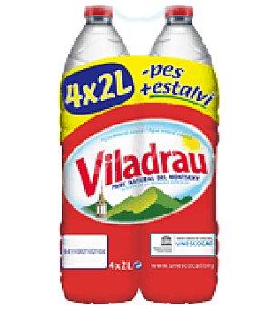 Viladrau Agua Pack de 4x2 l