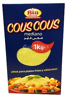 BIA Cous cous mediano Paquete 1 kg