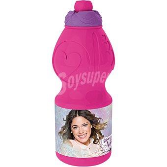 Disney Botella Sport pequeña con diseño Violetta en color rosa