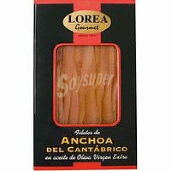 Lorea Anchoa del Cantáb. en aceite de oliva virgen Bandeja 60 g