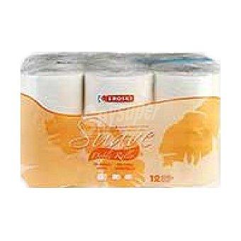 Eroski Box higiénico Eroski Suave 12 rollos