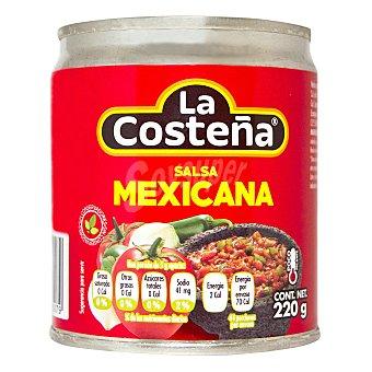 La Costeña Salsa mexicana casera Lata 220 g