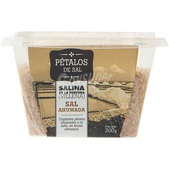 SAL FOSSIL Pétalos de sal ahumados tarrina 300 g Tarrina 300 g