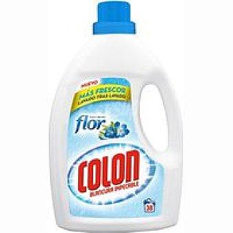 Colón Detergente gel Flor Botella 38 dosis