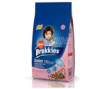 Brekkies Affinity Alim. gatos junior 1.5 KG