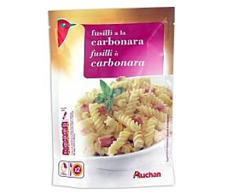 Auchan Fusilli a la carbonara, 145 gramos