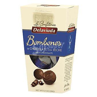 Delaviuda Bombones de chocolate con leche Caja 150 g