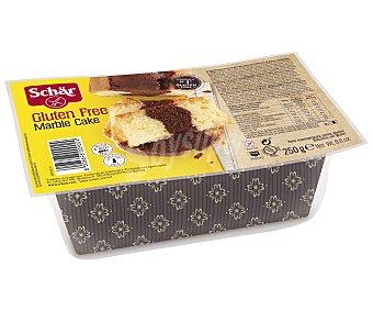 SCHAR Marble Cake Bizcocho de chocolate y vainilla sin gluten Envase 250 g