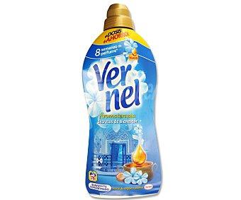 Vernel Suavizante concentrado Secretos de Bienestar con Aceite de Argán y Jazmín Botella 76 dosis