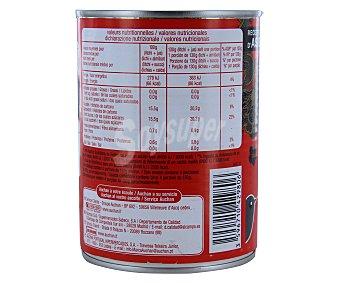 Auchan Lichis en almíbar 250 gramos