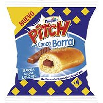 Pitch Bollito barra de choco leche Paquete 155 g