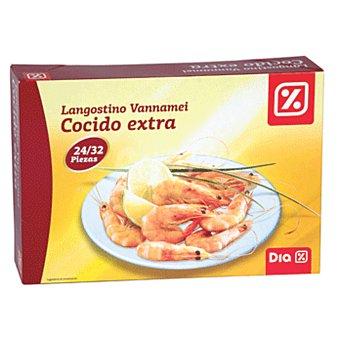 DIA Langostino cocido vannamei 24/32 piezas Caja 800 gr