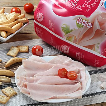 ElPozo Pechuga de pavo sin sal 0% materia grasa Sobre de 250.0 g.
