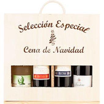 Vinali Vino Especial Cena de Navidad Pack 4x75 cl