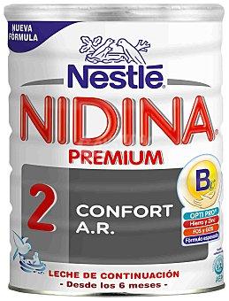 Nidina Nestlé Leche 2 de continuación Premium en polvo 800 g