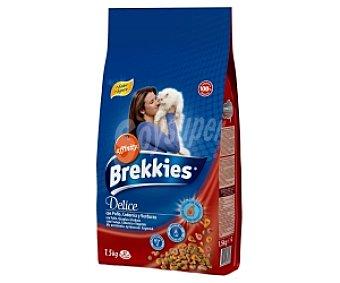Brekkies Affinity Comida seca para gatos carne 1,5 Kilogramos
