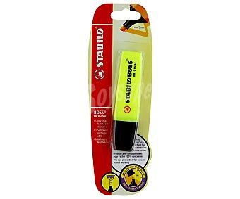 Stabilo boss Marcador Fluorescente Color Amarillo 1 Unidad
